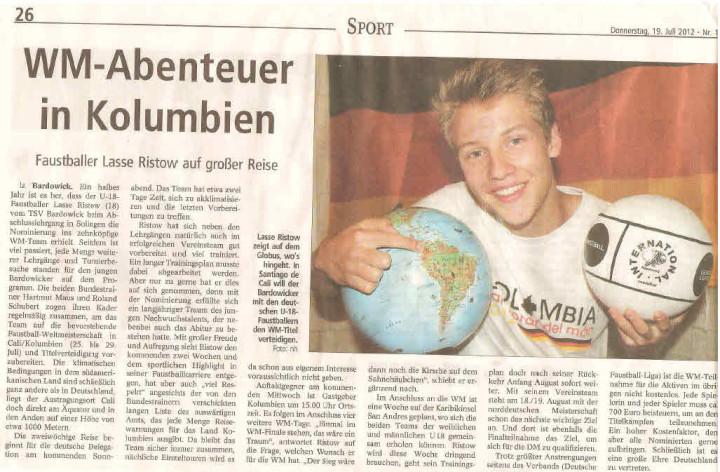 Landeszeitung vom 19.07.2012