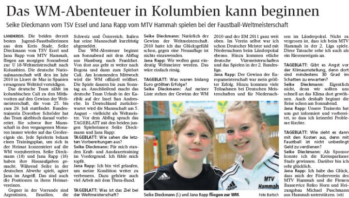 Stader Tageblatt vom 20.07.2012